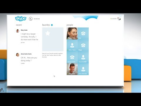 How To Backup Chat History In Skype® For Windows® 8
