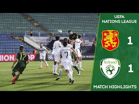 HIGHLIGHTS | Bulgaria 1-1 Ireland - UEFA Nations League