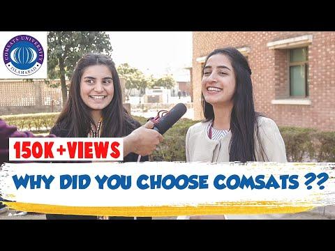WHY YOU CHOOSE COMSATS? | COMSATS UNIVERSITY ISLAMABAD | NAQEEB ULLAH KHAN