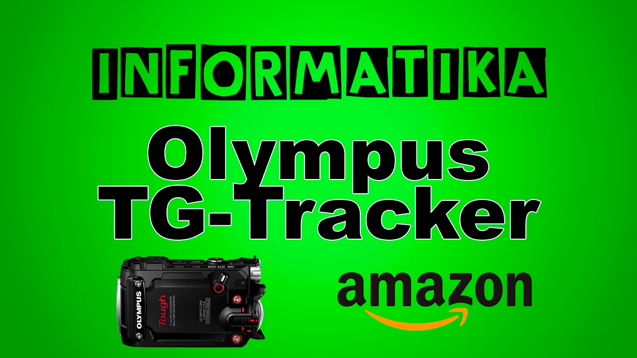 Unboxing Action cam Olympus TG-Tracker B 4k GPS WiFi 204°