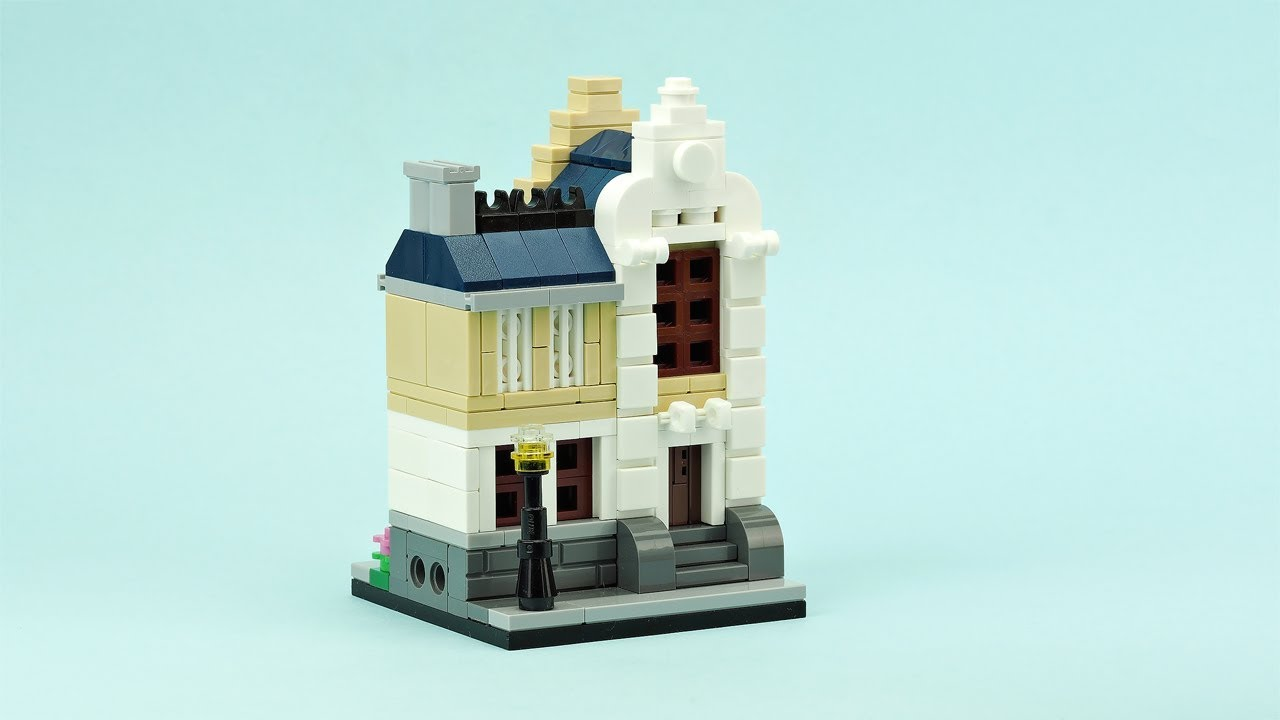 Lego Modular luxury House Building Instructions