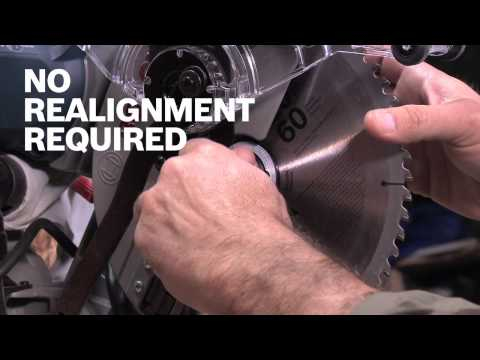 Bosch Power Tools - LS010 Miter Saw Laser Washer Guide Product Video