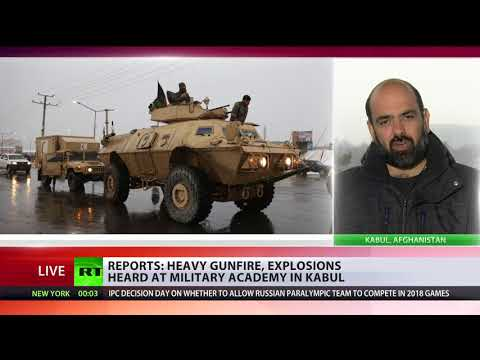 Explosions & gunfire: Military university under attack in Kabul