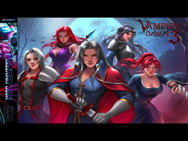 Vampires Dawn 3 - The Crimson Realm im Pre-Release Check ☬ PC | Deutsch | Demo