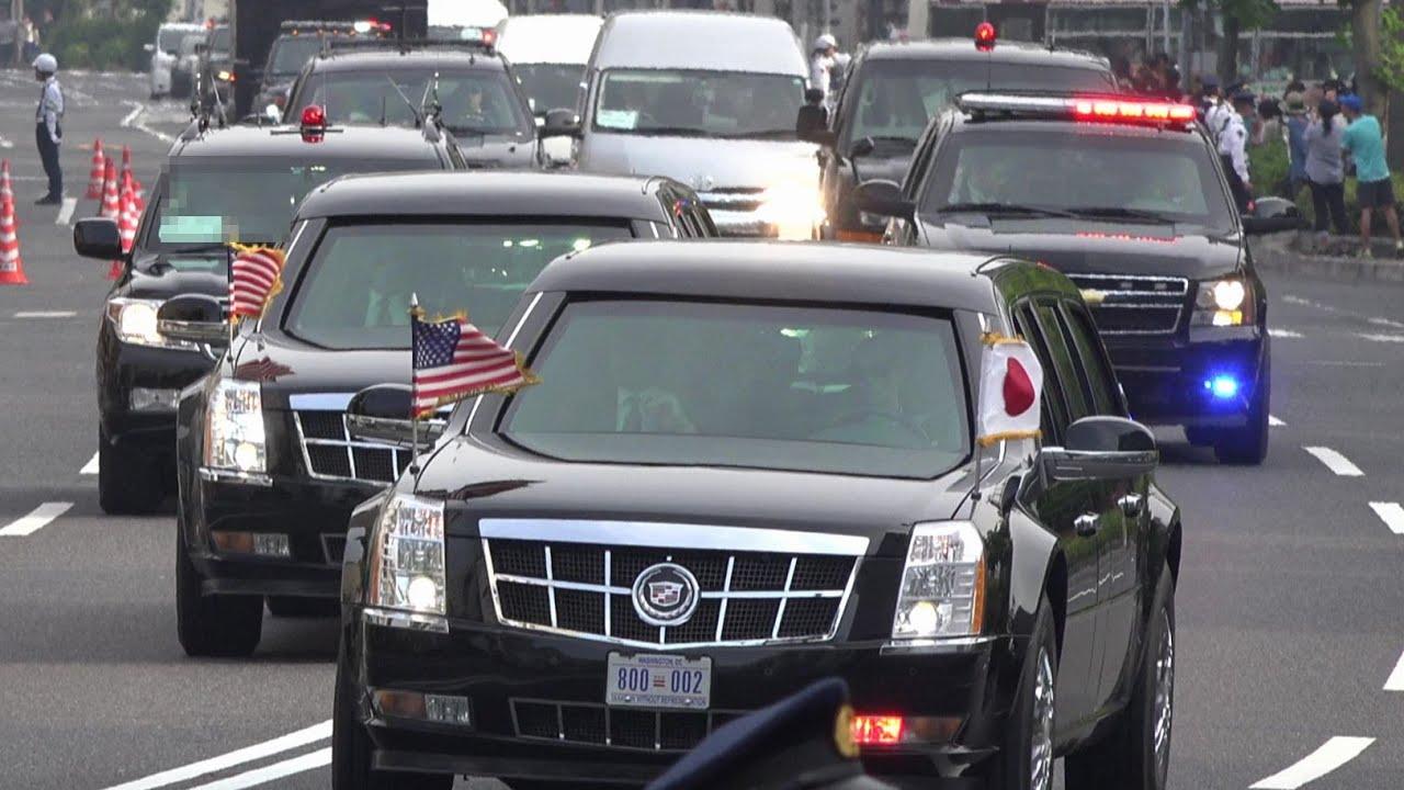 「オバマ 広島 車」の画像検索結果