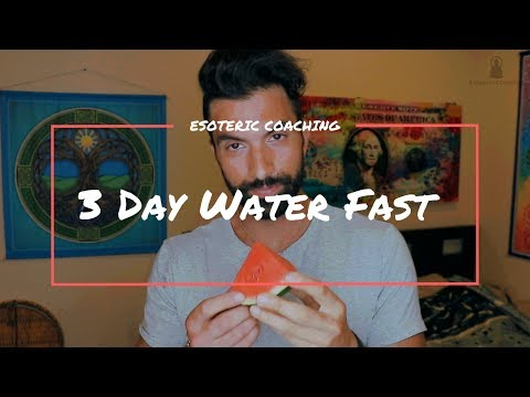 3 Day Water Fast (72 Hours): How To & Benefits — Esoteric