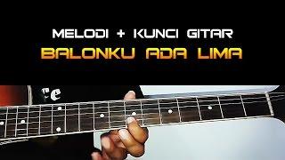 Tutorial Melodi + Kunci Gitar Lagu Anak BALONKU ADA LIMA