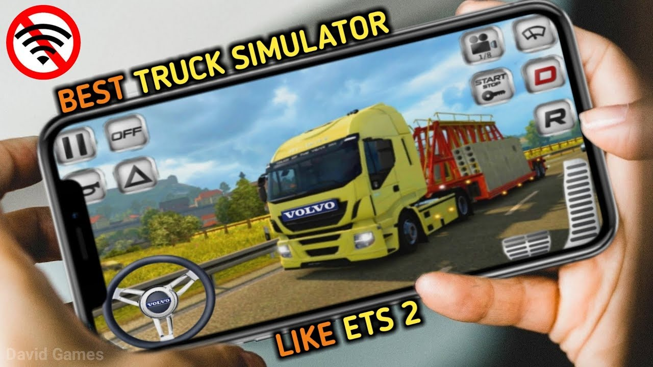 Top 10 Best Truck Simulator Games For Android & Ios 2019 | Like ETS2
