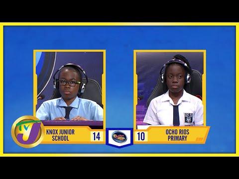 Knox Junior School vs Ocho Rios Primary | TVJ Jnr SCQ 2021 - Oct 8 2021