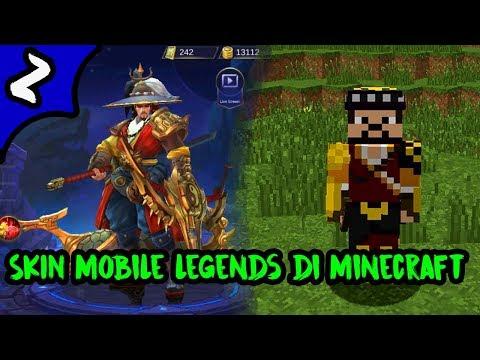 Skin Mobile Legends Versi Minecraft !