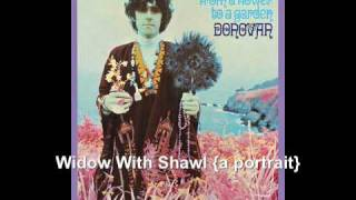 Widow With Shawl {a portrait} - Donovan