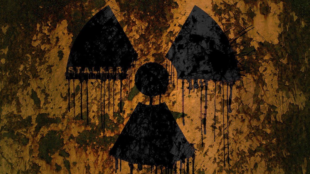 картинки со знаком радиации сталкер