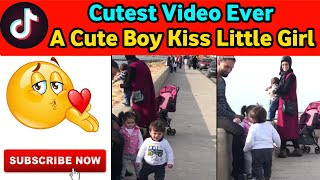 A little boy kissing a girl 😘 | Cutest Video Ever | World of Talents