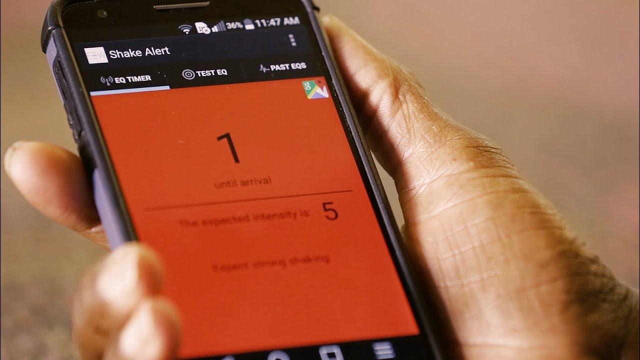 Cell phone spyware quake