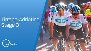 Tirreno-Adriatico 2018: Stage 3 Highlights