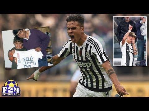 Hur Paulo Dybala uppfyllde sin döda pappas dröm genom att lyckas med fotbollen   Fotboll24