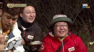 SBS [정글의법칙] - 정글에서의 첫식사, 이범수 장혁 특별출연