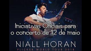 Iniciativas Oficiais -- Niall Horan -- 12 de maio -- Portugal