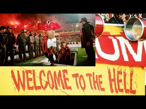 Manchester United at Galatasaray Away ( Istanbul - Welcome To Hell) / 1993