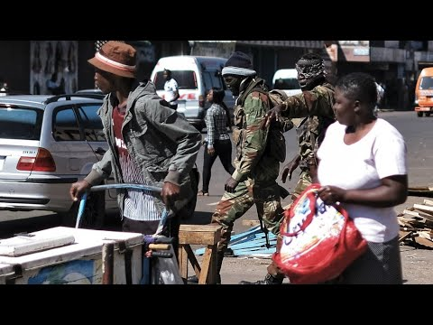 ''Uneasy calm'' in Harare amid Zimbabwe post-election unrest