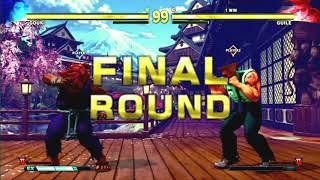 Street Fighter V AE Evo Japan 2018.