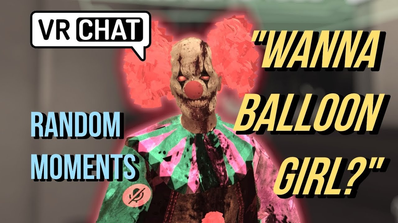 PENNYWISE SCARING A GIRL [VRChat funny moments] - YouTube