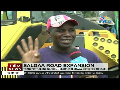Dual Carriageway At Dangerous Salgaa Black Spot Now Operational