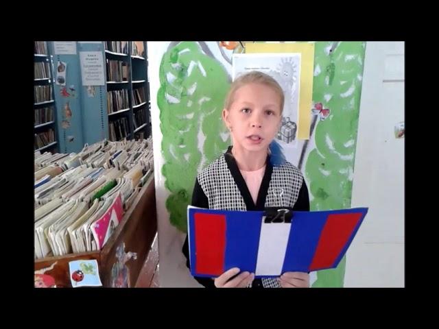 Изображение предпросмотра прочтения – ПолинаМешкова читает произведение «Я колени преклоняю перед людскою добротой» О.Посоховой