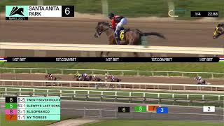 Twentyseventrouts wins Race 6 on Friday, March 5th, 2021 at Santa Anita Park.