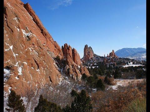 Garden Of The Gods Colorado Winter Tour