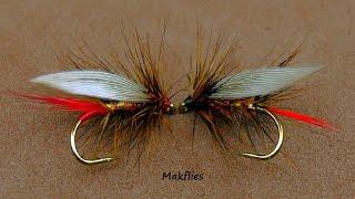 Fly Tying a Wickhams Fancy Variation by Mak