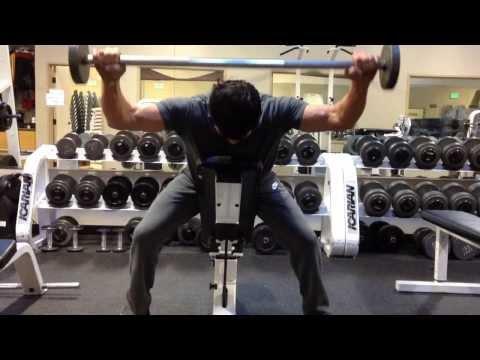 Sleepy Hollow Star Nicholas Gonzalez getting down in the gym with celeb trainer Brian Peeler