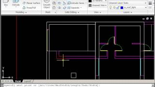 Autocad 2d Drawing Course B - Site Plan - Part 1 - Roof Plan & Shadows
