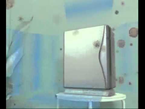 purificateur d 39 air mc 707 by daikin youtube. Black Bedroom Furniture Sets. Home Design Ideas