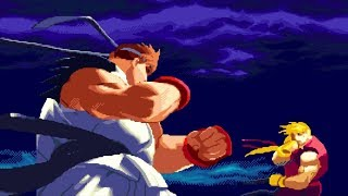 Street Fighter Alpha 2 - NeN(Ryu) VS Religião Gamer(Ken)