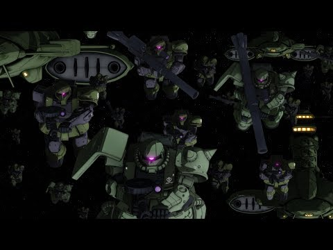 MOBILE SUIT GUNDAM THE ORIGIN Ⅴ Clash at Loum Trailer #2 (CN.HK.TW. EN.  KR. FR Sub)