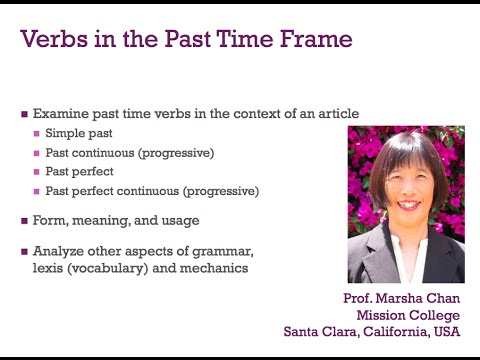 GS4 Ch2 A2 Verbs in the past time frame -- Ripening at the Center of ...