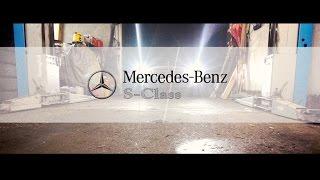 Замена масла и фильтров на Mercedes Benz S320 W221/// плановое ТО.