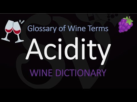 wine article Wine Term Definition  Acidity