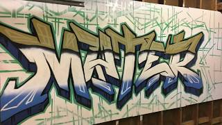 Graffiti in the Garage - Mater