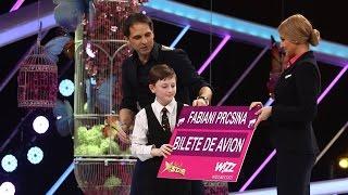 Next Star ii asigura transportul lui Fabiani la toate concursurile de pian din Europa!