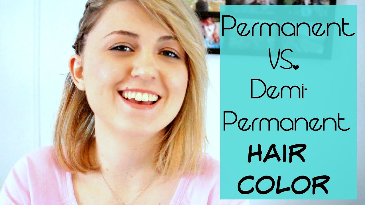 Whats The Difference Between Permanent And Demi Permanent Hair