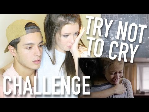 TRY NOT TO CRY CHALLENGE (with Jess Conte)