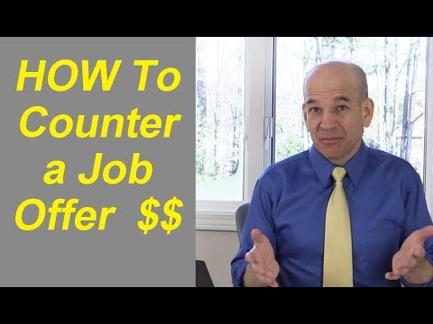 Should You Counter Offer a Job Offer?