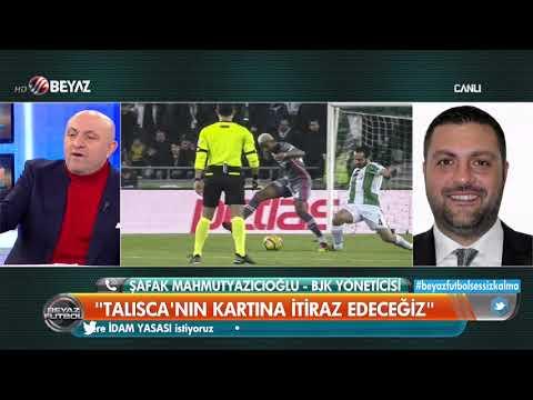 Beşiktaş Yöneticisi Şafak Mahmutyazıcıoğlu'ndan Talisca açıklaması