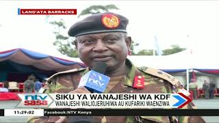 It is a lie that KDF does not take care of wounded soldiers  - Major General Matiri