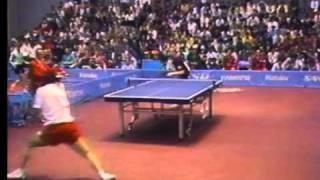 【卓球】渋谷浩 vs エリック・リンド 1991