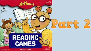 Whoa, I Remember: Arthur's Reading Games: Part 2
