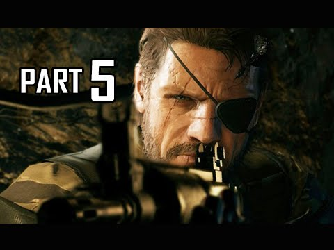 Metal Gear Solid 5 The Phantom Pain Walkthrough Part 5 - Occupation Forces (PS4 Let's Play Gameplay)