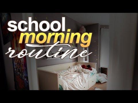 School Morning Routine 2018   Morgan Jean